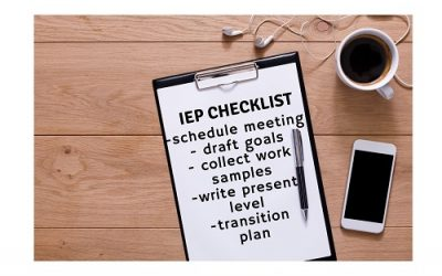 IEP Meeting Checklist (Downloadable Checklist)