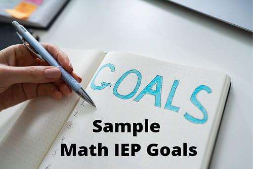 Math IEP Goals